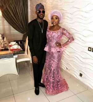 2face And Annie Idibia At Banky W And Adesua Etomi